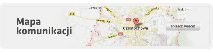 Mapa Mpk W Czestochowie Sp Z O O